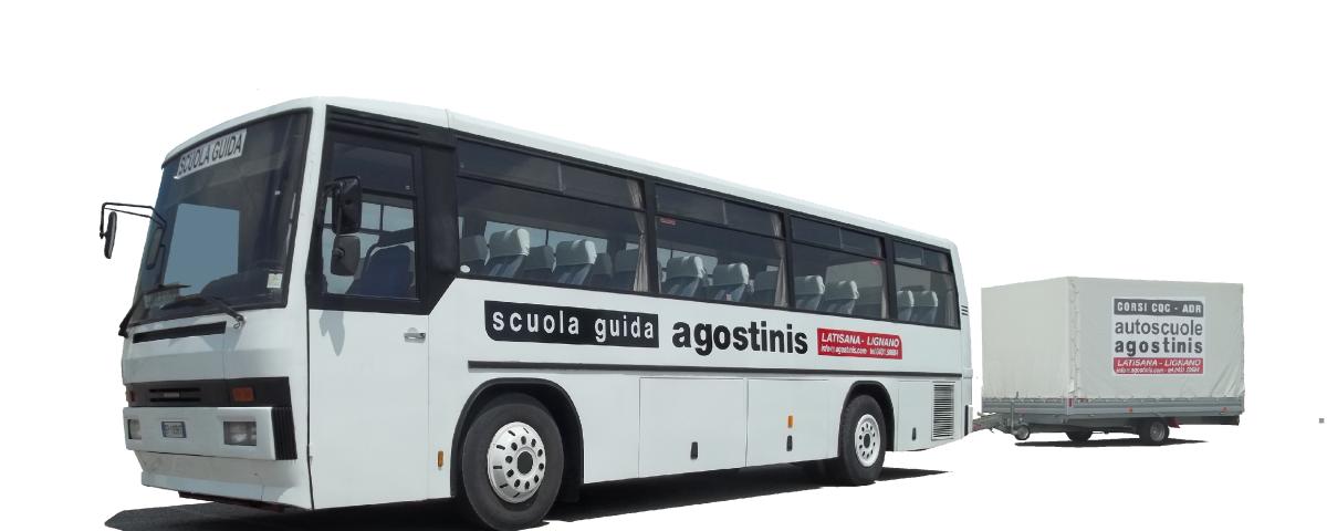 autobus con rimorchio